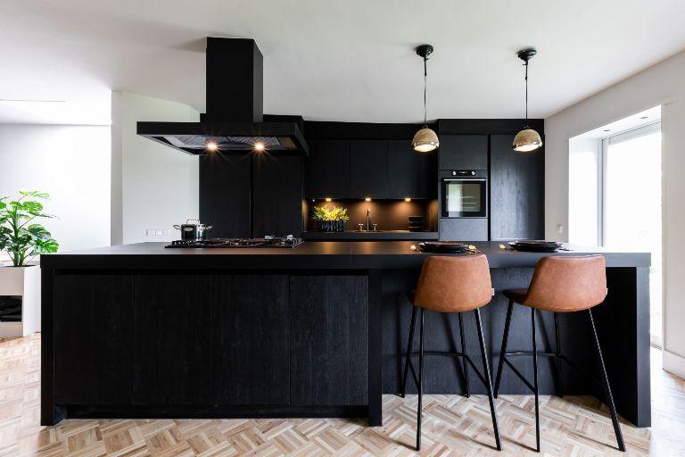 Bij Een Zwarte Keuken Is Ontzettend Veel Mogelijk Uit Magazine